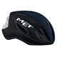 MET Strale - Casque de vélo - bleu/noir